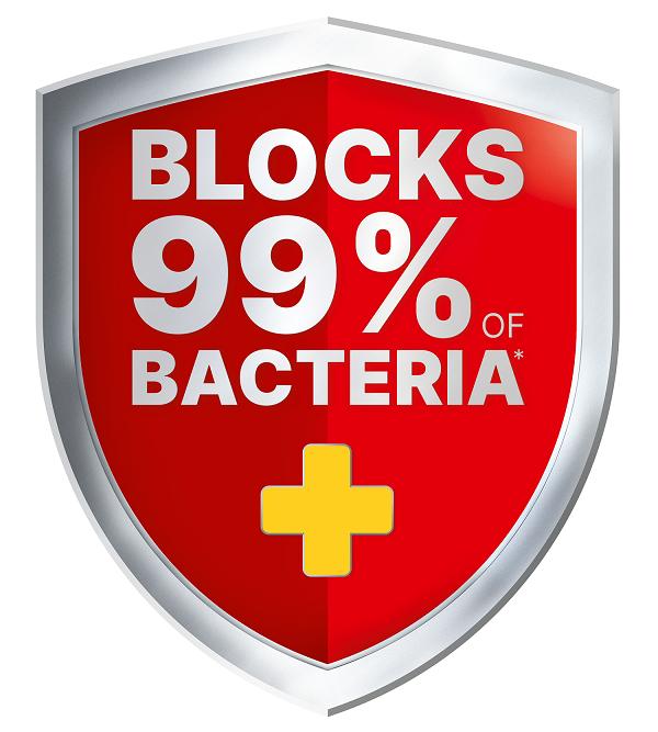 Elastoplast Bacteria Shield plasters blocks 99% of bacteria