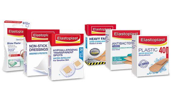 Elastoplast products group shot