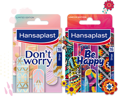 Limited Edition Lifestyle-Pflaster   Hansaplast