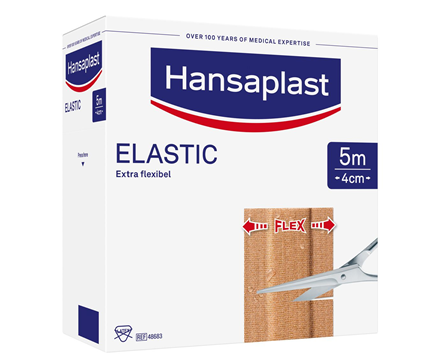 Hansaplast Elastic Pflaster Großpackung 5m x 4cm