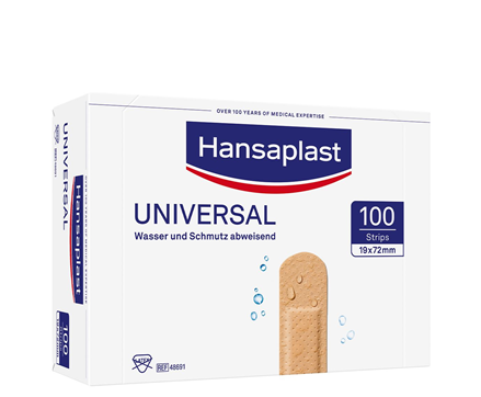 Universal Pflaster 1,9 x 7,2cm