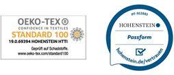 Fußgelenk-Bandage mit Oeko-Tex Standard 100 Siegel