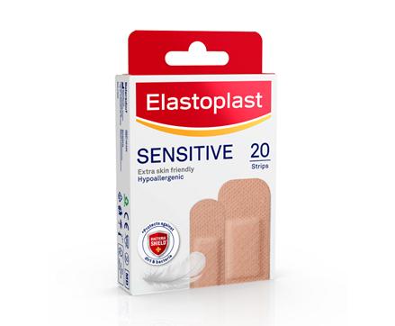 Elastoplast Sensitive Plaster light skin tone