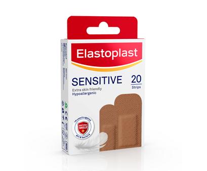Elastoplast Sensitive Plaster medium skin tone
