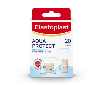Packshot of Elastoplast Aqua Protect plasters