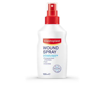 Packshot of Elastoplast Wound Spray