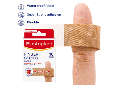 Elastoplast Finger Strips plasters key benefits