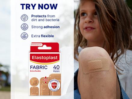 Fabric 40 plasters key benefits