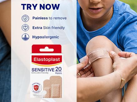Sensitive plasters key benefits
