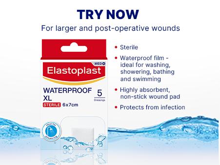 Waterproof dressings XL key benefits