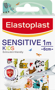 Kids sensitive animal cut to size plasters