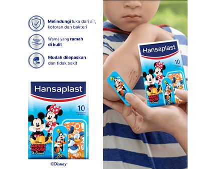 Hansaplast Disney Mickey and Friends Benefits