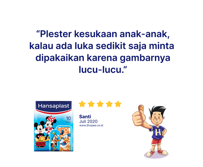 Hansaplast Disney Mickey and Friends Review