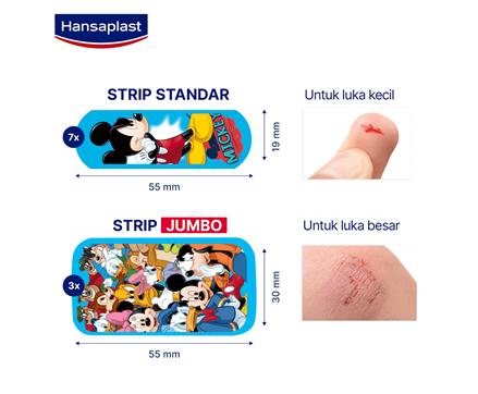 Hansaplast Disney Mickey and Friends Size