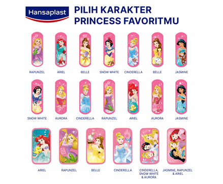 Hansaplast Disney Princess Strips