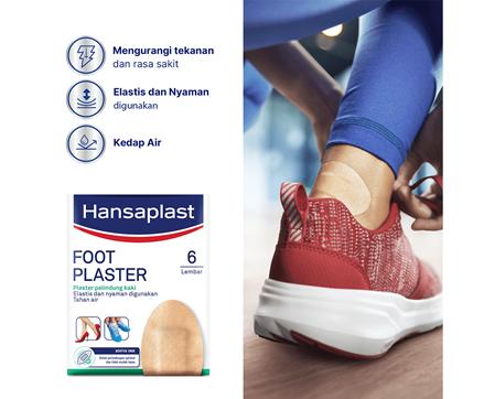 Hansaplast Foot Plaster Benefits