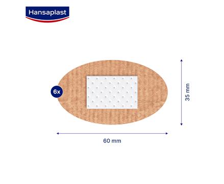 Hansaplast Foot Plaster Size