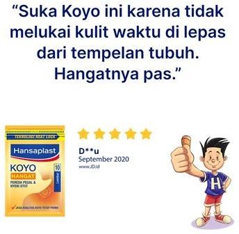 Hansaplast Koyo Hangat 10s review