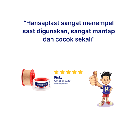 Hansaplast Rol Kain 1,25 x 1 Review