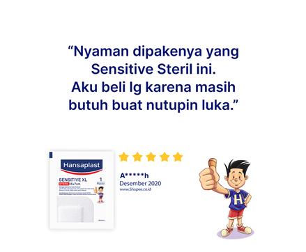 Hansaplast Sensitive XL Review