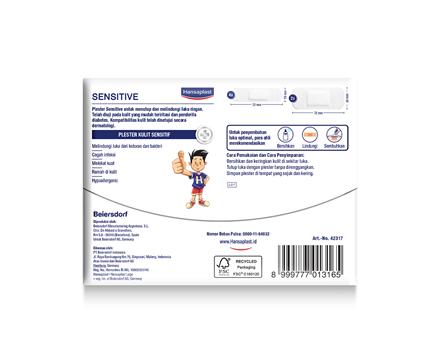 Hansaplast Sensitive Back Cover