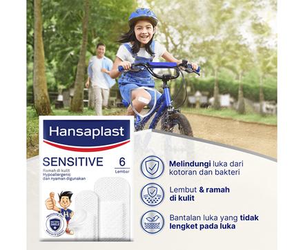 Hansaplast Sensitive Benefits