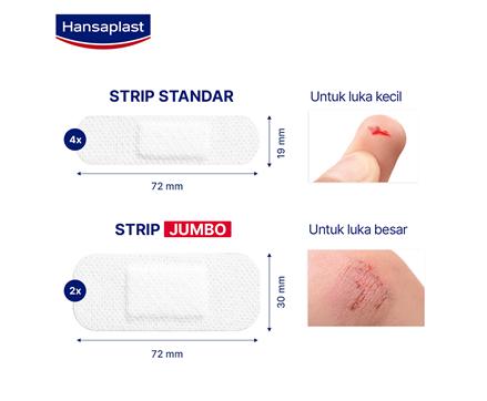 Hansaplast Sensitive Size
