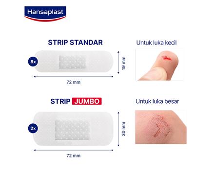 Hansaplast Transparan Size