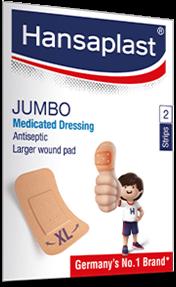 Jumbo Wound Plasters | Hansaplast
