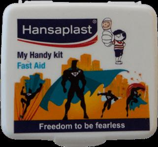 First Aid Kit Box: My Handy Kit - 2  Pocket-size, travel friendly first aid box   Hansaplast India