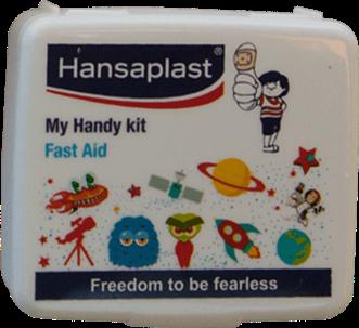 First Aid Kit Box: My Handy Kit - 3  Pocket-size, travel friendly first aid box   Hansaplast India