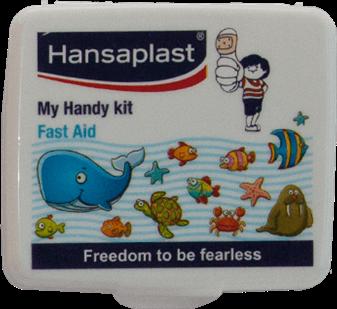 First Aid Kit Box: My Handy Kit - 4  Pocket-size, travel friendly first aid box   Hansaplast India
