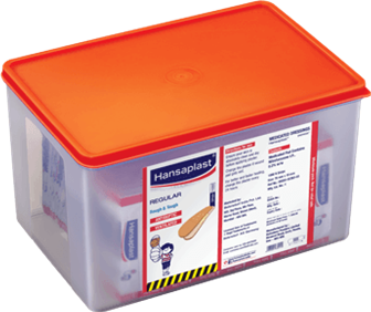 Regular Wound Plasters Big Box | Antiseptic plaster to protect from dirt and bacteria | Hansaplast India