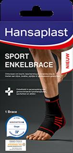 Enkelbrace voor tijdens het sporten- Hansaplast