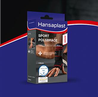 Polsbrace voor sport - Hansaplast